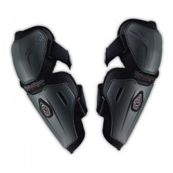 Troy Lee Protection Elbow Guards Polycarbonate - Grey (Adult)