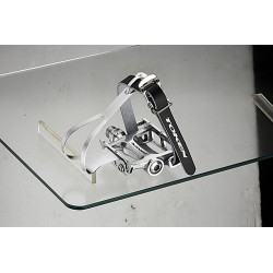 Token - TK457TM Alloy Track pedal With Toe Clip