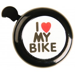 Adie I Love My Bike Black Classic Bell
