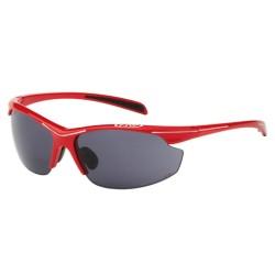 Northwave - Devil Sunglasses Red - Smoke Lens + Clear Lens