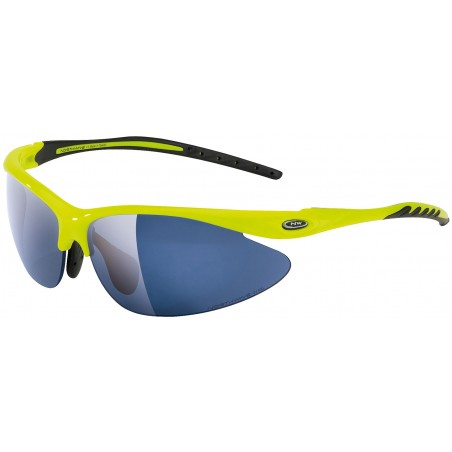 Northwave - Team Sunglasses Team Yellow Fluo-Black - Smoke+Clear+Ora Lens
