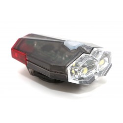 ETC Helmet Jewel Front & Rear Light Set