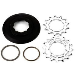Brompton Sprocket and Disc Set: 13/16 Teeth, 3/32 Inch Wide Ratio 6 Speed