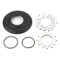 Brompton Sprocket and Disc Set: 12/16 Teeth 3/32 Inch 2 Speed