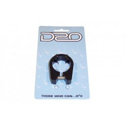 (D2O) A.K. SEAT CLAMP - BLACK 31.8MM