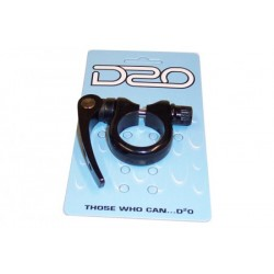 (D2O) Q.R. SEAT CLAMP – BLACK 34.9MM