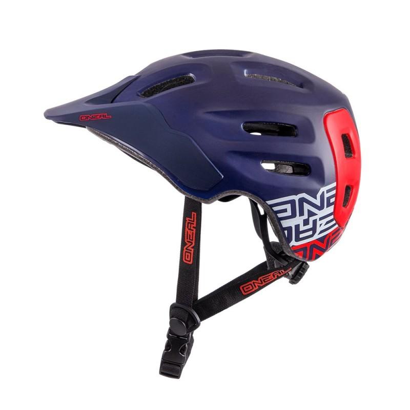 ONeal Defender Helmet Blue/Red Medium