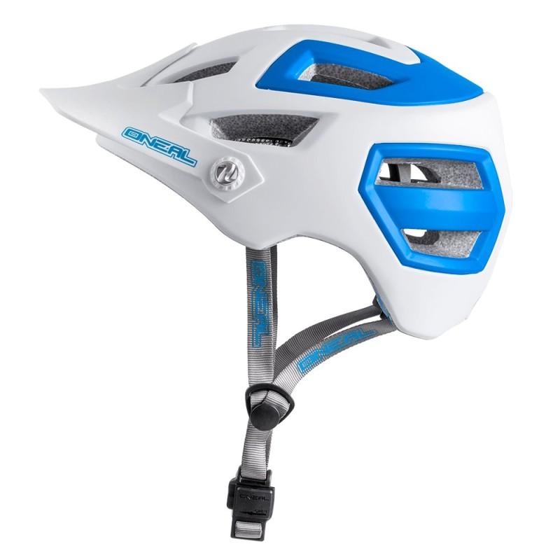 ONeal Pike White/Blue Helmet Small/Medium