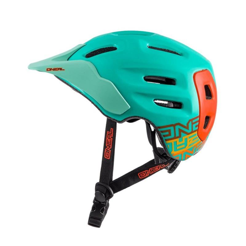 ONeal Defender Helmet Mint/Orange Large
