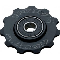 Acor 11T CNC Alloy Jockey Wheel: Black