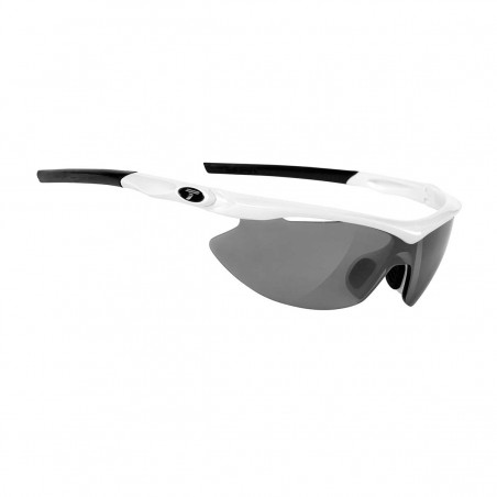 TIFOSI SLIP INTERCHANGEABLE LENS SUNGLASSES PEARL WHITE