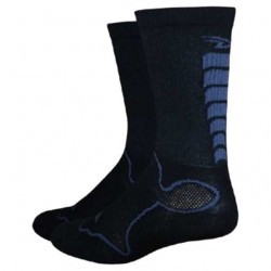 Defeet Levitator Socks Black/Graphite Medium