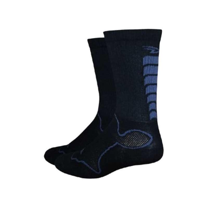 Defeet Levitator Socks Black/Graphite Medium
