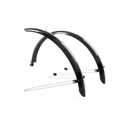 Mpart Commute full length mudguards 700 x 46mm black