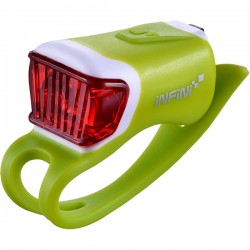 Infini Orca USB rear light, green