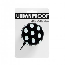Urban Proof 6.5cm Ding Dong Bell - Black Dots