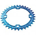 Race Face Narrow Wide Chainring 36t Blue