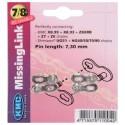 Kmc 7 8 Speed Links Twn Pack 7.3mm