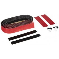 ITM CARBON EFFECT BAR TAPE Red