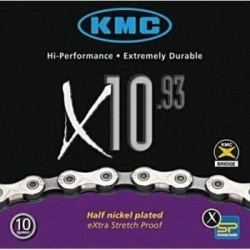 Kmc X10-93 Sil Gray Chain