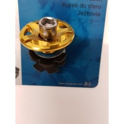 Acor 1.1 8  Star Washer  Bolt & CNC Top Cap  Gold