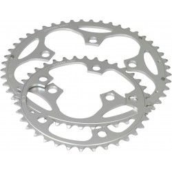 Stronglight 5-Arm Alloy Chainring  39T Silver 110mm B.C.D
