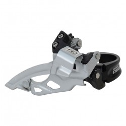 FD-M610 Deore 10-speed triple front derailleur  top swing  dual-pull