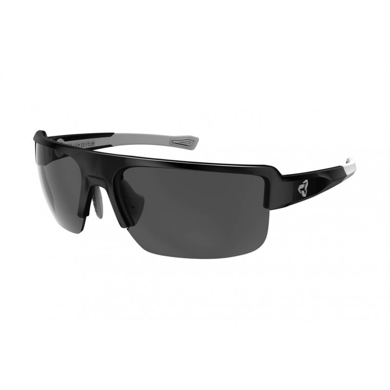 RYDERS EYEWEAR SEVENTH BLACK&GREY FRAME  GREY LENS