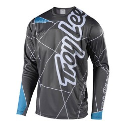 TROY LEE DESIGNS SPRINT JERSEY GRY OCN LARGE