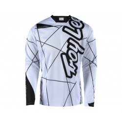 TROY LEE DESIGNS SPRINT JERSEY METRIC WHITE BLACK