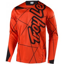 TROY LEE DESIGNS YOUTH SPRINT JERSEY METRIC ORG BLK