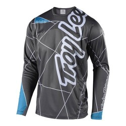 TROY LEE DESIGNS YOUTH SPRINT JERSEY METRIC GRY OCN