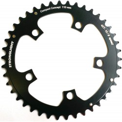 Stronglight 5-Arm 130mm Chainring  52T Black