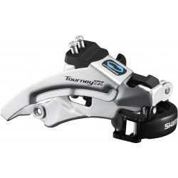 Shimano FD-TX800 Tourney TX front derailleur  top swing  dual pull  for 42 48T  63-66