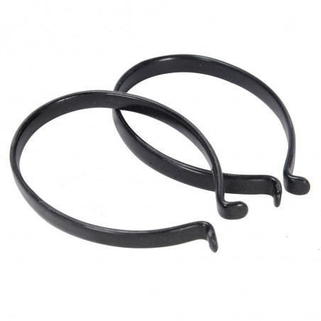 Oxford Trouser Clips PVC Coated - Pairs