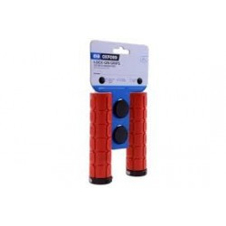 Oxford Oxford Lock On Fat Grips Red