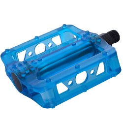 Oxofrd Darkxide BMX Pedal Cr-mo axle Crystal Blue