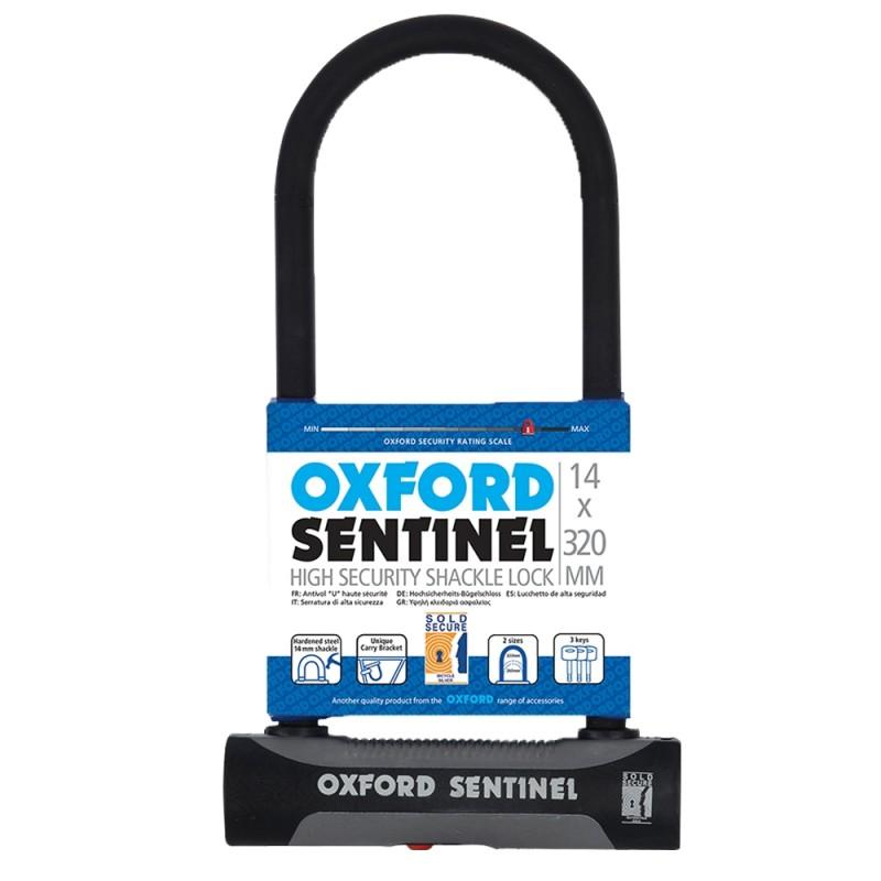 Oxford Sentinel plus U-Lock 14mm x 320mm