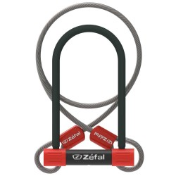 Zefal K-Traz U13 U-Lock with Cable 230mm