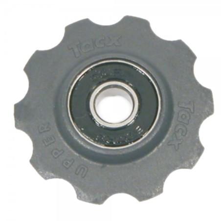 TACX JOCKEY WHEELS STAINLESS STEEL BEARINGS (FITS 7 8SPD SHIMANO & 8 9 10SPD CAMPAG)