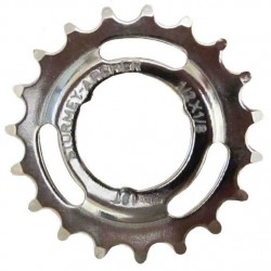 STURMEY ARCHER 18T SPROCKET     1 8    DISHED     CHROME