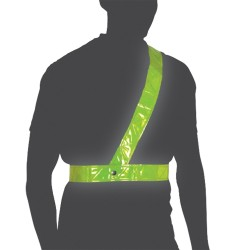Oxford Cycle Bright Belt  Reflective Shoulder Strap  Large