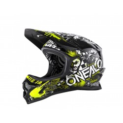 ONeal Backflip Helmet Burnout Black Neon Medium