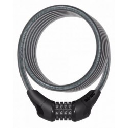 OnGuard Neon Combo Cable Lock 180 x 12mm Black