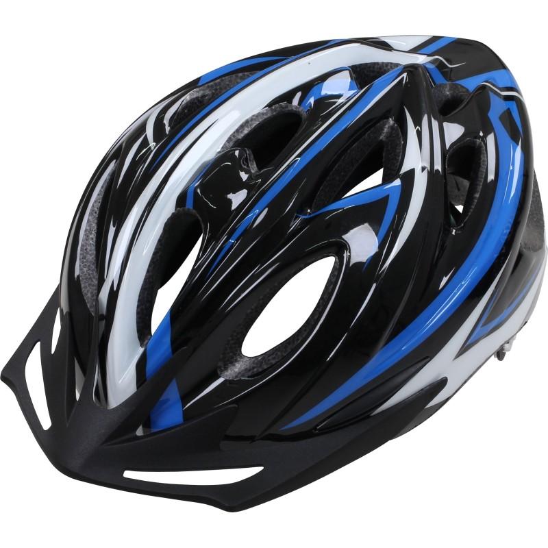 Apex L330 Leisure Helmet Black Silver Medium