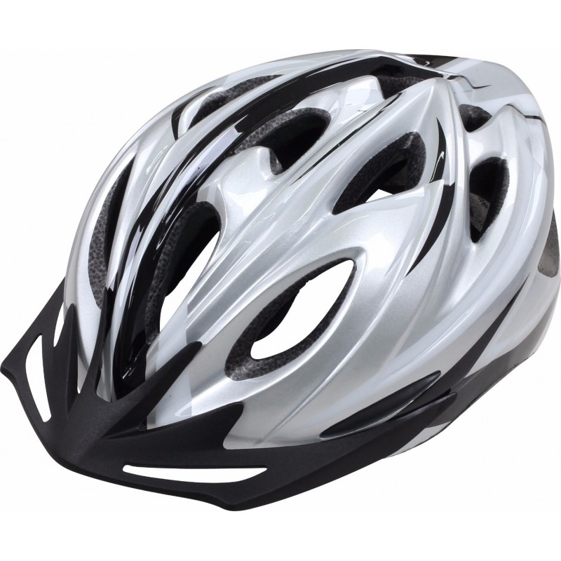 Apex L330 Leisure Helmet Silver LARGE