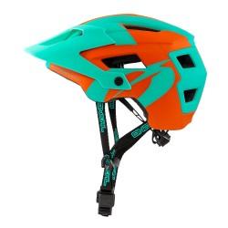 ONeal Defender 2 Helmet Orange Teal Large  XLarge
