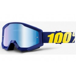 100% Strata Goggles Hope   Blue Mirror Lens