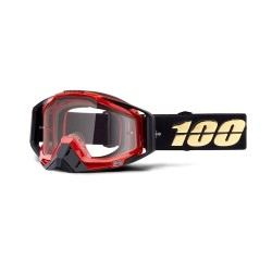 100% Racecraft Goggles Hot Rod   Clear Lens