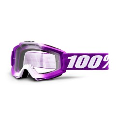 100% Accuri Goggles Framboise   Clear Lens